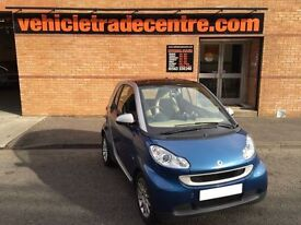 SMART FORTWO 1.0 PASSION MHD 2d AUTO 71 BHP (blue) 2010