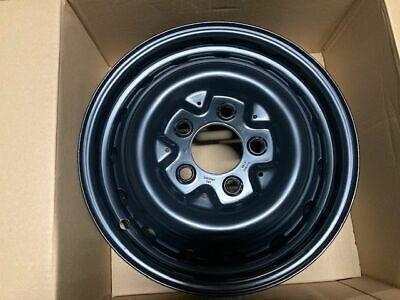 Stahlfelge 6x16 ET63 Mercedes G Klasse W460 W461 Wolf A4604000302 schwarz NEU