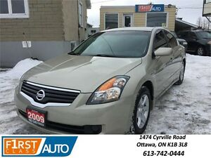 2009 Nissan Altima 2.5 S - NO ACCIDENTS! - ONLY 78,000 KM