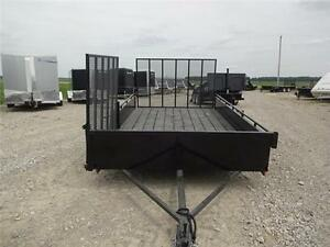 2016 ATV Trailer 80 x 12!! EASY LOADING FOR YOUR ATV- $47/MTH!! London Ontario image 2