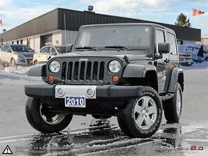 2010 Jeep Wrangler Sahara lift kit