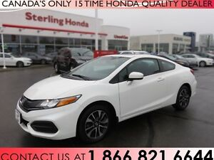 2014 Honda Civic EX | LOW KM'S | COUPE | 1 OWNER