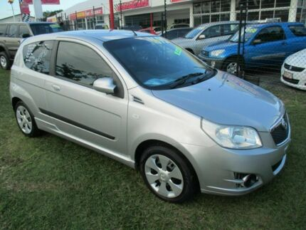 2008 Holden Barina TK MY08 Silver 5 Speed Manual Hatchback Kippa-ring Redcliffe Area Preview