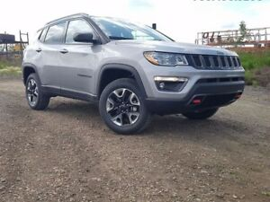 2017 Jeep NEW COMPASS Trailhawk 4x4 GPS Navigation / Full Sunroo