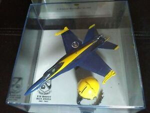 Blue Angel F18 with helmet