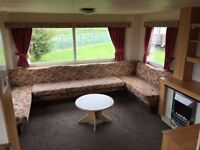 STATIC CARAVAN FOR SALE INGOLDMELS FREE SITE FEES 2017 IDEAL FOR 1ST TIME BUYERS OR RENTAL PURPOSE