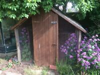 Dog Kennel - ideal for permanent use in garden