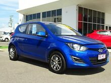 2014 Hyundai i20 PB MY14 Active Pristine Blue 6 Speed Manual Hatchback Garbutt Townsville City Preview