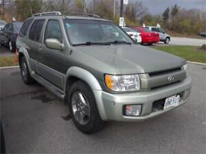 2003 INFINITI QX4, Leather Loaded, 4X4, 226k ,Clean 3450.00 Cert
