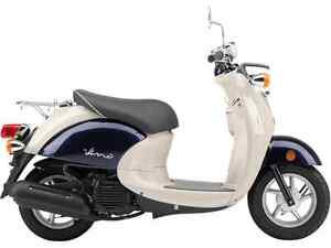 YAMAHA VINO 50 DARK GRAYISH BLUE METALLIC 2017
