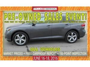 2014 Toyota Venza Limited V6 AWD | No Accidents | Local