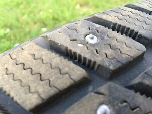 Studded i pike winter tires