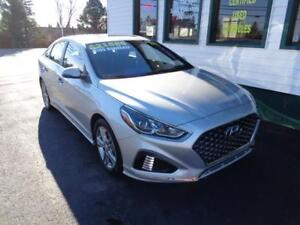 2018 Hyundai Sonata Sport 2.4 for only $185 bi-weekly all in!