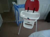 Highchair and bedguard
