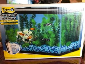 5 Gallon Fish Tank , Water Filter, & Accessories for Sale