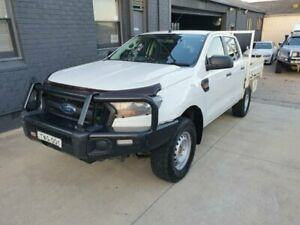 2016 Ford Ranger PX MkII XL 3.2 (4x4) White 6 Speed Automatic Crew Cab Chassis Peakhurst Hurstville Area Preview