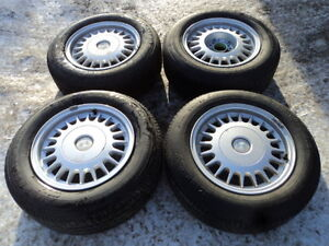 4 Firestone Tires with Rims for BMW Vehicles
