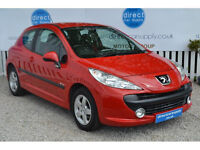 PEUGEOT 207 Can't get car finance bad credit, unemployed? We can help!