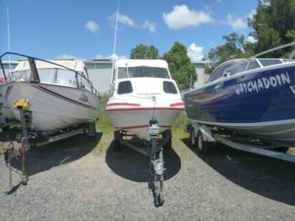 Caribbean Half Cabin 4.3 with 40 hp Johnson
