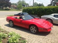 1987 Chevrolet Corvette Convertible $6000 - TRADE for Harley