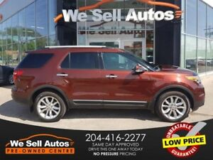 2015 Ford Explorer LIMITED *LEATHER *S ROOF *H SEATS