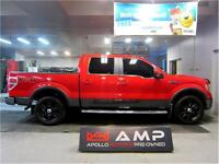 2010 Ford F-150 FX4 Leather 4x4 Blacked Out Crew