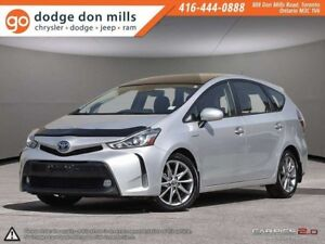 2015 Toyota Prius v Base FWD | Panoramic Sunroof | Leather | Tec
