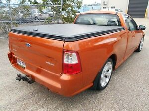 2010 Ford Falcon FG XR6 Ute Super Cab 50th Anniversary Orange 6 Speed Sports Automatic Utility Underwood Logan Area Preview
