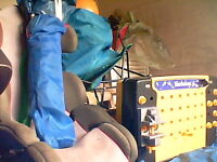 toys - child play tent, car booster seat, child's fold up chair.......plus more! sold as seen