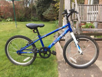 """Apollo 'Switch' in blue. Very lightly used. 10"""" frame, 20"""" wheels/excellent tyres. Immaculate!"""