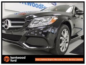 2016 Mercedes-Benz C-Class C 300 4MATIC with NAV, sunroof, back