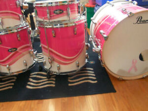 Lightly Used Pearl Vision Birch Drums
