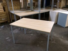 Quality Beech Meeting Table - FREE DELIVERY
