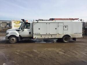 2013 Furnace and Duct Cleaning Truck. International Terrastar