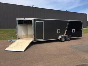 NEW 2019 XPRESS 7.5' x 29' ALL-SPORT SNOWMOBILE TRAILER