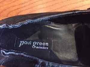 Paul Green Munich ($180 new) Black Leather classics Kitchener / Waterloo Kitchener Area image 3