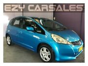 2011 Honda Jazz GE MY12 GLi Blue 5 Speed Automatic Hatchback Albion Park Rail Shellharbour Area Preview