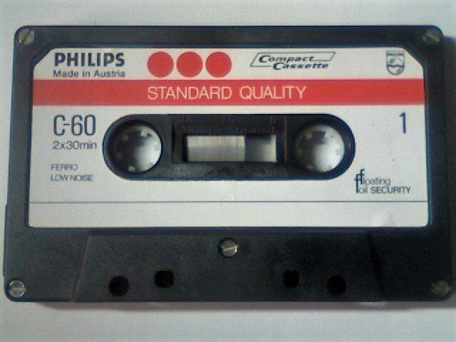 Image result for cassette tape 1975
