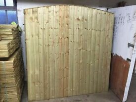🌟 Outstanding Quality Heavy Duty Bow Top Fence Panels