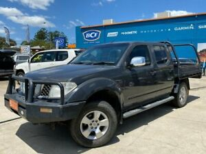2008 Nissan Navara D40 ST-X Grey 5 Speed Automatic Utility Greenslopes Brisbane South West Preview