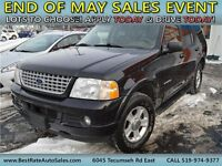 2002 Ford Explorer Limited 4x4, Leather Seats