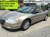 2004 Chrysler Sebring LXi Convertible Auto Leather 145000km
