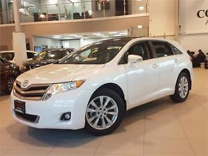 2013 Toyota Venza PREMIUM-AWD-LEATHER-PANO ROOF-ONLY 78KM