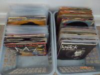 200 x 7 inch vinyl singles