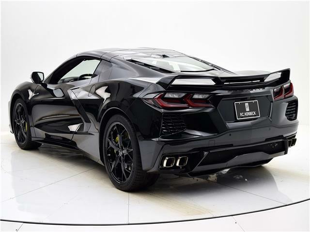 2020 Black Chevrolet Corvette  3LT | C7 Corvette Photo 3