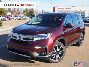 2019 Honda Pilot Touring 7P. Driver Assist. Heated Leather Seats