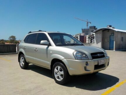 2007 Hyundai Tucson JM MY07 City SX Gold 4 Speed Sports Automatic Wagon Southport Gold Coast City Preview