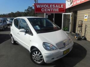 2001 Mercedes-Benz A160 W168 Elegance White 5 Speed Automatic Hatchback Edgeworth Lake Macquarie Area Preview