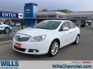 2016 Buick Verano LEATHER | SUNROOF | ONE OWNER