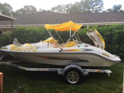 2003 Seadoo Sportster Le Jet Boat And Trailer